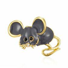 Pin Women Fashion Jewelry Gifts New 2020 Rat Zodiac Mouse Lovely Enamel Brooch