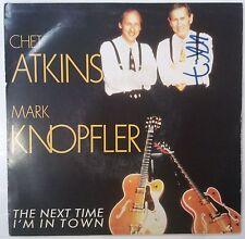 "Chet Atkins & Mark Knopfler The Next Time I'm In Town Single 7"" España Promo"