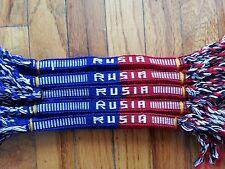 12 Handmade Friendship Bracelet Cotton  Rusia