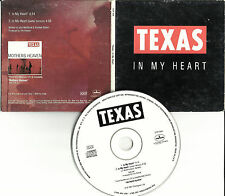 Sharleen Spiteri TEXAS In My Heart RARE GUITAR VERSION PROMO Radio DJ CD Single