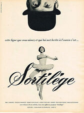 PUBLICITE ADVERTISING 024   1967   SORTILEGE   bas tricots soutien goge lingerie
