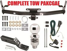 2007-2009 PONTIAC TORRENT COMPLETE TRAILER HITCH TOW PACKAGE ~ CLASS 3  NO DRILL