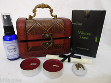WITCHES CURSE RITUAL CHEST spell kit wicca wiccan pagan black magic hex satan