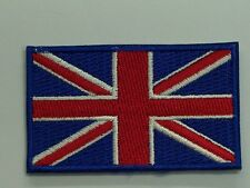 TOPPA PATCH FLAG INGHILTERRA CM 6,5 x 4 REGNO UNITO BANDIERA INGLESE ENGLISH