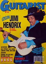 French mag 1990: JIMI HENDRIX_AXEL BAUER_RONNIE WOOD_CHRISSIE HYNDE_NOEL REDDING