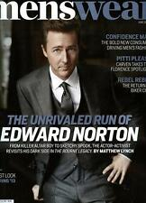 Menswear Magazine 6/12 fashion EDWARD NORTON
