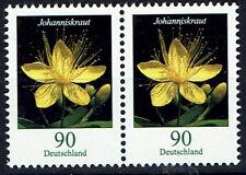3304 ** , BRD 2017, Blumen. Johanniskraut , waagrechtes Paar