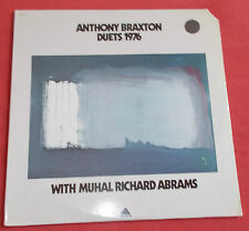 ANTHONY BRAXTON LP US ORIG ARISTA DUETS