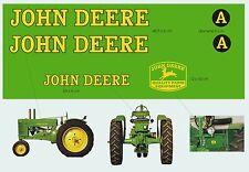 kit stickers tracteur John Deere A