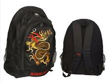 """Black Miami Ink with """"Dragon"""" Design Backpack"""
