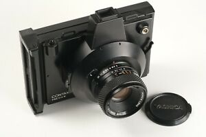 Yashica Contax Preview Nr. 000252, Yashica Lens 2/55 Nr. A8117802, 1x Deckel