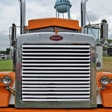 Peterbilt 379 Extended Hood Louvered Grill 16 Louvers
