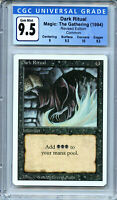MTG Revised Dark Ritual CGC 9.5 Gem Mint Magic Card Amricons 5101