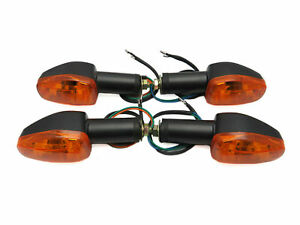 4x Universal Indicators Set For Kawasaki ZX-9R Ninja ZX900C 1998 - 1999