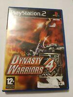 PLAYSTATION 2 PS2 - Dynasty Warriors 4 - Complet - Très Bon Etat