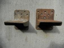 (2) Single Gumball Machine Mounting Brackets Original Mounts