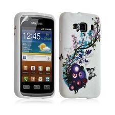 Housse coque étui gel pour Samsung Galaxy XCOVER S5690 motif HF01 + Film protect