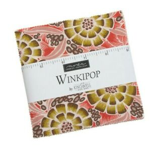 Jen Kingwell Winkipop Charm Pack - Moda Charm Pack 5 inch Squares