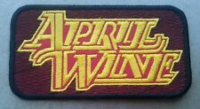 April Wine embroidered patch Rush Triumph BTO Loverboy