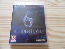 JEU VF PS3 RESIDENT EVIL 6 PLAYSTATION 3