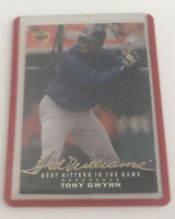 1992 Upper Deck Tony Gwynn Baseball Card