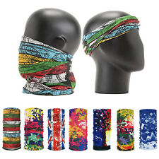 Camouflage Multi-use Scarf Bandana Head Face Mask Neck Gaiter Snood Head Wear