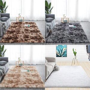 Fluffy Rugs Non Slip Shaggy Rug Large Soft Floor Carpet Mat Living Room Bedroom
