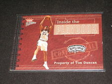 TIM DUNCAN SPURS 2003 FLEER AUTHENTIC LIMITED EDITION BASKETBALL CARD /400