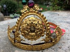 Super Rare Annie Oakley Shooting competition Tiara Winners Trophy Wild West Item