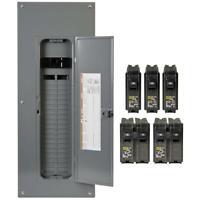 Square D Main Breaker Box Kit 200 Amp 40-Space 80-Circuit Plug-in (Value Pack)