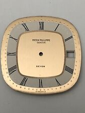 Beyer Watch Dial 29.75mm Authentic Patek Philippe 18k 750 Gold