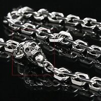 Guntwo Mens Korean Fashion Jewelry Funk Biker Skull Jean Wallet Chain C1146 US