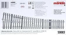Märklin Spur I - 59083 Weichen- Set rechts ( H 1000-1S ) NEU & OvP