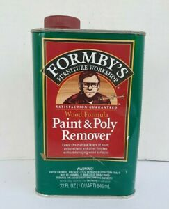 Forby's Wood Formula Paint & Poly Remover Wash 32oz New Sealed Discontinued