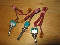 3 Stück   Ausbauschalter für Graupner MC Anlagen Mischer Schalter
