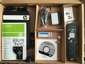 HP EXPRESSCARD DVB-T DIGITAL TV TUNER MEDIA REMOTE CONTROL IR ANTENNA RECEIVER