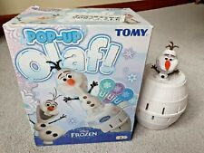 Tomy Disney Frozen Pop Up Olaf Family Action Game. All Pieces & Parts