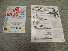 Cutting Edge  decals 1/48 48002 Mig-29 Fulcrum-A Non-Cis AFs  A56
