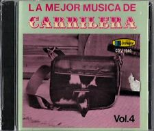 La  Mejor Musica De Carrilera  Volume 4 Latin Music CD New