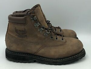 Cabelas Outfitter Series Brown Leather GTX Ankle Hunting Boots Womens Size 6.5M