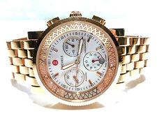 MICHELLE # 06380 ROSE GOLD PLATED .46CT DIAMOND WOMENS WRISTWATCH WATCH