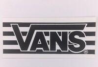 NOS Vintage Vans Logo Skateboard Sticker BMX Surf Original 1990's 80's Stripes