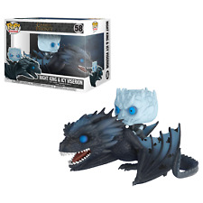 Funko POP Game of Thrones Night King Rides Icy Viserion Dragon GLOW IN THE DARK