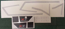 SUZUKI X7 MK1  FULL PAINTWORK DECAL KIT