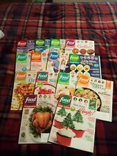 2018 / 2019 Food Network Magazines lot of 14 NEW  Free Shipping
