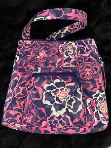 Vera Bradley Hipster Crossbody Handbag Purse Retired Katalina Popular Pattern