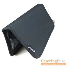 Coltello PROFESSIONALE WALLET CASE CHEF COLTELLI Roll 7 slot Compartimenti Nero