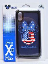 Disney WDW 4th July Patriotic Flag Minnie Apple Iphone 10 XS Max Cellphone Case