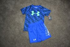 UNDER ARMOUR 2PC size 4 SHORTS/T-SHIRT NWT