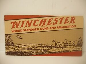 Rare Original copyright 1941 WINCHESTER GUNS & AMMUNITION Catalog